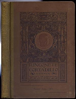 Rinconete y Cortadillo. Novela. Edición hecha por: CERVANTES SAAVEDRA, Miguel