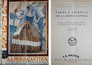 Farsa y Licencia de la Reina Castiza.: VALLE - INCLÁN,