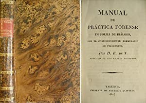 Manual de Práctica Forense en forma de: TAPIA, Eugenio de