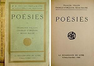 Poésies.: VILLON, François, D