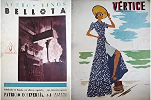 Vértice. Revista Nacional de la Falange. Nº 14, Septiembre 1938. Director Manuel Halc&...