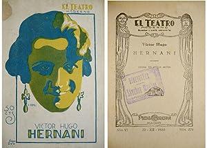 Hernani. Drama en cinco actos.: HUGO, Victor.