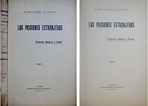 Las Prisiones extranjeras. Francia, Bélgica e Italia.: NAVARRO DE PALENCIA, Alvaro.