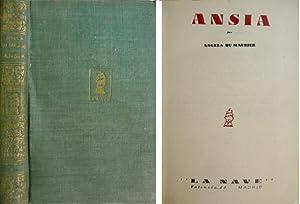 Ansia. [Lawrence Vane]. Versión castellana de C.: DU MAURIER, Angela.