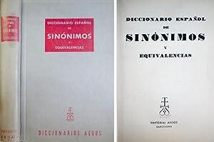 Diccionario Español de Sinónimos y Equivalencias.: ANDRÉS, M. F.