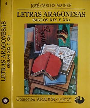 Letras Aragonesas (Siglos XIX y XX).: MAINER, José Carlos.