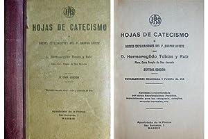 Hojas de Catecismo, ó Breves explicaciones del P. Gaspar Astete. Séptima edici&oacute...