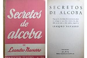 Secretos de alcoba. Paseo por la vida: NAVARRO, Leandro.