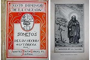 Santo Domingo de la Calzada. Sonetos de los hechos históricos de la ciudad y su fundador.: ...