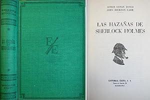 Las hazañas de Sherlock Holmes. Versión española: CONAN DOYLE, Adrian
