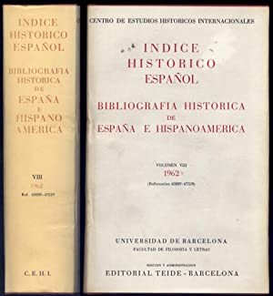 Índice Histórico Español. Bibliografía Histórica de España: CENTRO DE ESTUDIOS