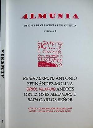 ALMUNIA. Revista de Creación y Pensamiento. Número: FERNANDEZ MOLINA, Antonio