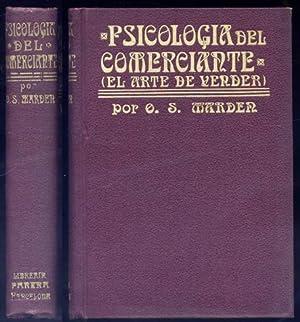 Psicología del comerciante. El arte de vender.: MARDEN, Orison Swett.