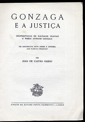 Gonzaga e a Justiça. Confrontação de Baltasar: CASTRO OSÓRIO, João