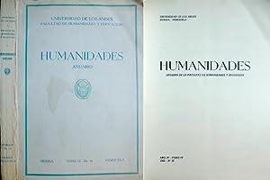 Humanidades. Anuario de la Facultad de Humanidades: UNIVERSIDAD DE LOS