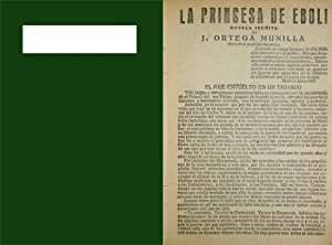 La Princesa de Éboli. Novela.: ORTEGA MUNILLA, José.
