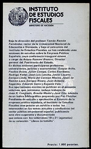 La Empresa Pública Española. Estudios de., Tomás Ramón Fernández...