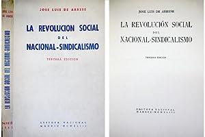 La Revolución Social del Nacional - Sindicalismo.: ARRESE, José Luis