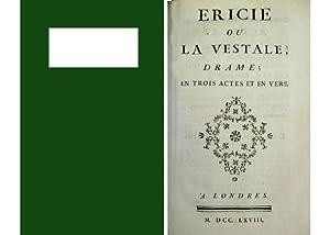 Ericie ou La Vestale. Drame en trois: DUBOIS - FONTANELLE,
