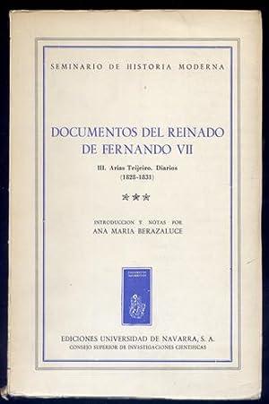 Diarios (1828 - 1831). III: 1831. Edición,: ARIAS TEIJEIRO, José.
