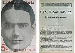 Las insaciables. Novela.: CASTRO, Cristobal de.