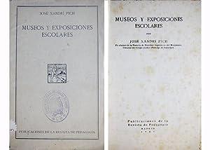 Museos y Exposiciones escolares.: XANDRÍ PICH, José.