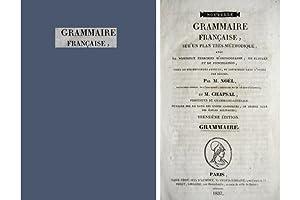 Grammaire Française.: NOËL, François et