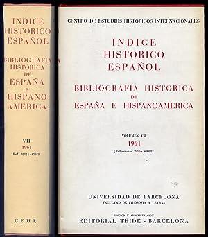 Índice Histórico Español. Bibliografia Histórica de España: CENTRO DE ESTUDIOS
