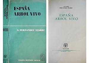 España, árbol vivo. (El condicionante básico social;: FERNÁNDEZ SUAREZ, Alvaro.
