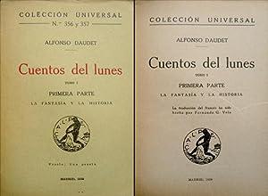 Cuentos del lunes: I: La fantasía y: DAUDET, Alphonse.