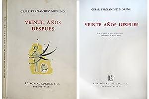 Veinte años después. Con un poema de: FERNÁNDEZ MORENO, César.