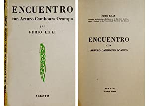 Encuentro con Arturo Cambours Ocampo.: LILLI, Furio.