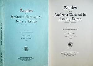 Anales de la Academia Nacional de Artes: VV.AA.