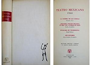 Teatro Mexicano 1963. Salvador Novo: La Guerra de las Gordas; Emilio Carballido: ¡Silencio, ...