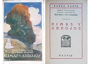 Rimas y abrojos. Poemas.: DARÍO, Rubén.