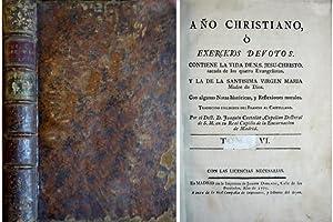Año Christiano ó Exercicios devotos. Tomo VI: CROISET, Jean.