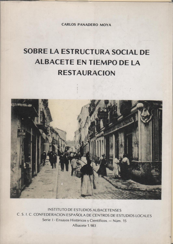 Sobre La Estructura Social De Albacete En