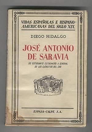 JOSE ANTONIO DE SARAVIA-(n.Villanueva del Fressno) DE: Hidalgo, Diego-