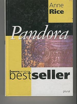 PANDORA Colección Nueva Narrativa, bestseller. Traducción Camila Batles. Buen estado:...