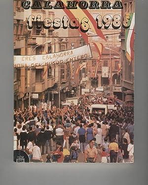 CALAHORRA FIESTAS 1985 Catálogo de fiestas. Ilustraciones b/n. Sin numerar. Buen estado...