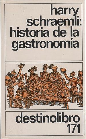 HISTORIA DE LA GASTRONOMIA Retrato de extraordinario: Schraemli, Harry-