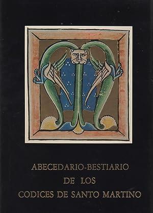 ABECEDARIO-BESTIARIO DE LOS CODICES DE SANTO MARTINO.facsimil numerado. Con cajetín. Ex ...