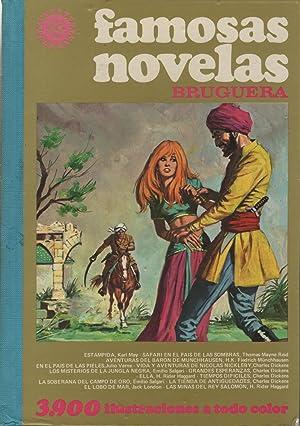 FAMOSAS NOVELAS - VOLUMEN XII Estampida, Safari en el pais de las sombras. Aventuras del Baron de ...