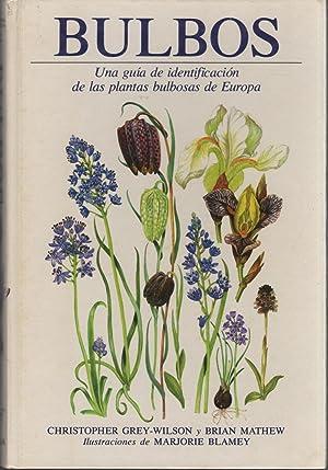 BULBOS Guía de identificación de las plantas bulbosas de Europa. Ilustraciones de ...