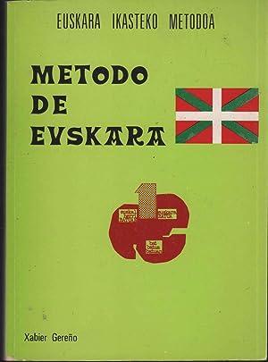 METODO DE EUSKARA / METODO DE EUSKERA: Gereño, Xavier-