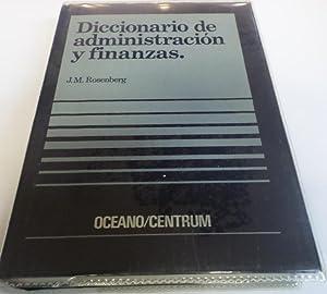 DICCIONARIO DE ADMINISTRACION Y FINANZAS.: Rosenberg, J.M.-