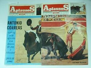 APLAUSOS.Nº 638 y 639-Ortega Cano indulta un: Semanario taurino-