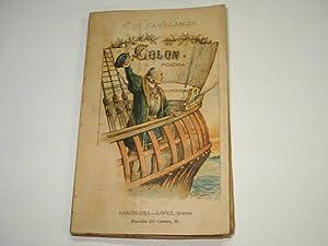 COLON.poema. Coleccion Diamante.portada ilustrada.: Campoamor,Ramon de