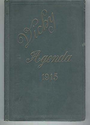 VICHY.AGENDA 1915.Muestrario de productos Vichy de farmacia.: Varios autores-