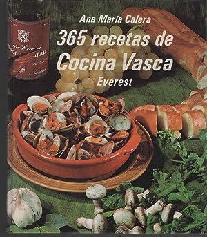 365 RECETAS DE COCINA VASCA Buen estado: ANA MARIA CALERA-